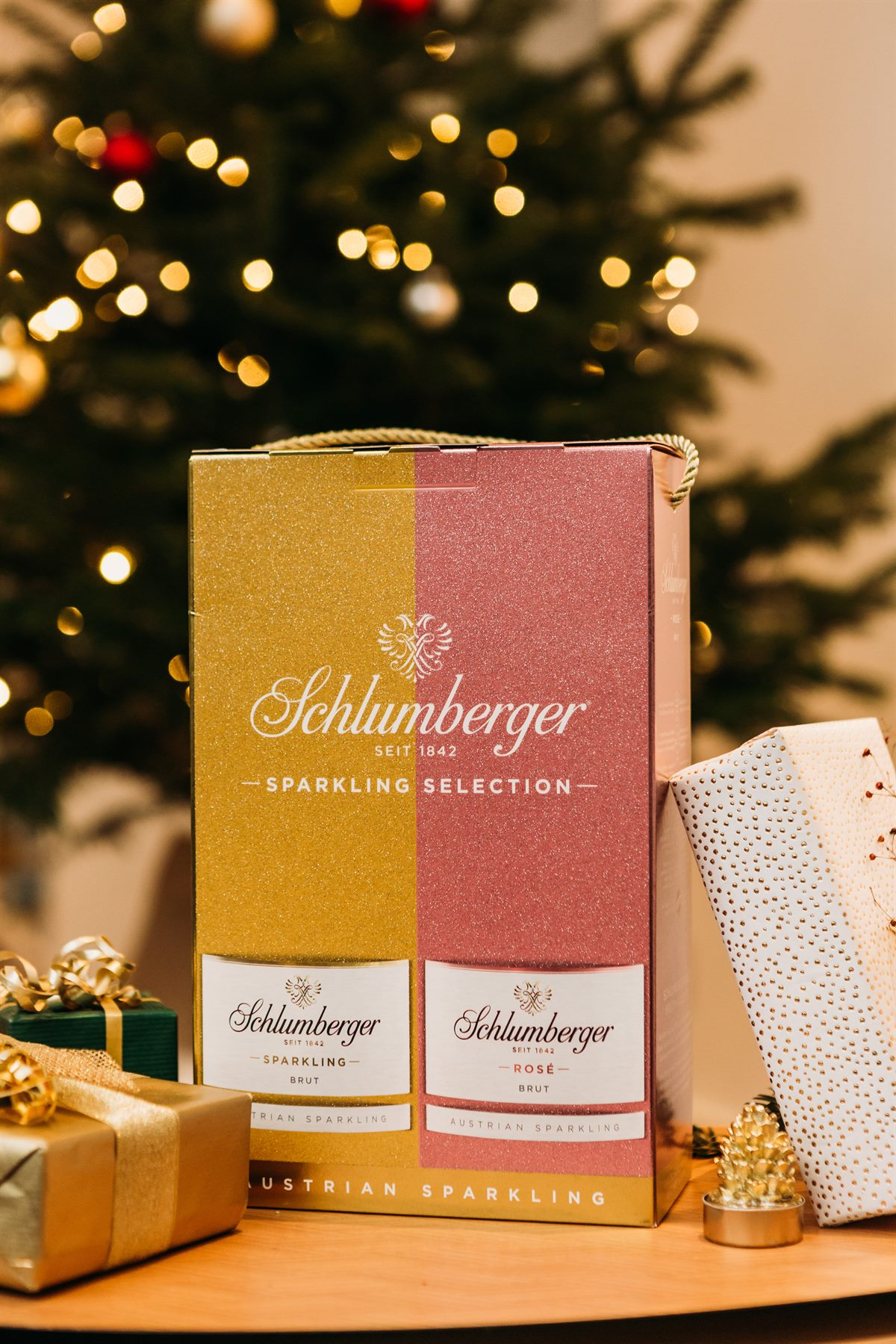 Schlumberger Sparkling Selection - ein unwiderstehliches Duo